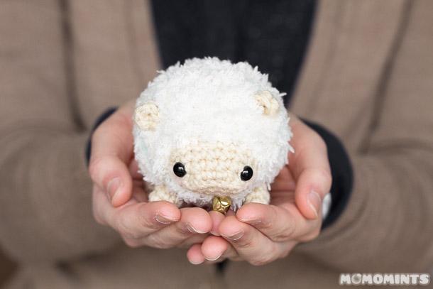 Так и эта вязаная овечка до