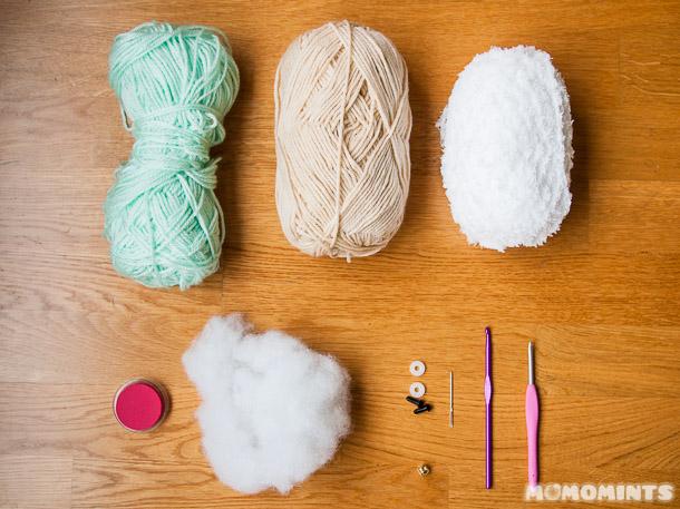 пряжа для вязаной овечки