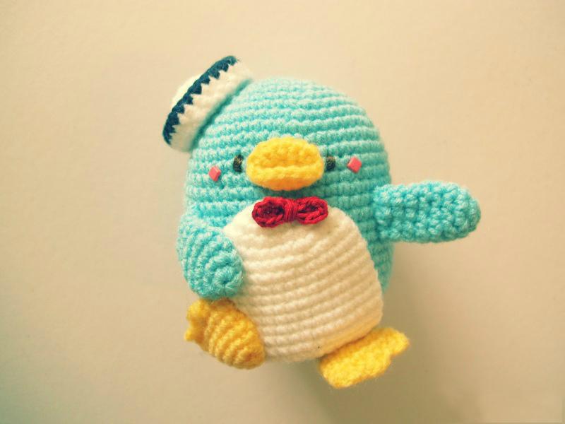 Знакомьтесь, амигуруми пингвин
