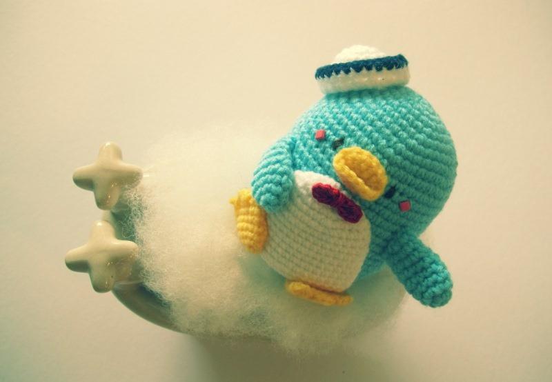 мк по вязанию пингвина
